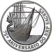 Portugal 2,50 Euro 75th Anniversary - School Ship NRP «Sagres» 2012 INCM Proof 75º ANIVERSÁRIO DO NRP SAGRES coin reverse
