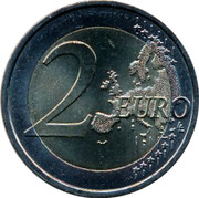 Portugal 2 Euro (500th Anniversary of the First contact between Portugal and Timor.) 2 EURO LL coin reverse