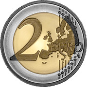 Portugal 2 Euro (600th Anniversary of the Discovery of the Madeira Archipelago) 2 EURO LL coin reverse