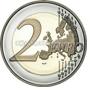 Portugal 2 Euro (75th Anniversary of United Nations) 2 EURO LL coin reverse