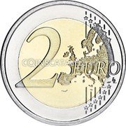 Portugal 2 Euro (Presidency of the Council of the European Union) KM# 772 2 EURO LL coin reverse