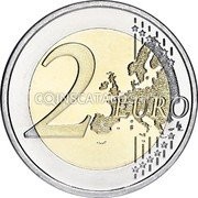 Portugal 2 Euro (Presidency of the Council of the European Union) 2 EURO LL coin reverse