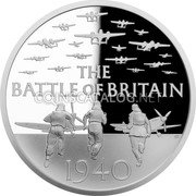 UK 2 Pounds (80th Anniversary of the Battle of Britain) THE BATTLE OF BRITAIN GB 1940 coin reverse