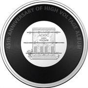 Australia 20 Cents 45th Anniversary of Album High Voltage 2021 45TH ANNIVERSARY OF HIGH VOLTAGE ALBUM coin reverse