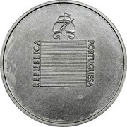Portugal 20 Escudos (Pattern) REPUBLICA PORTUGUESA J. A. MANTA DEL. ROSA GRAV. coin obverse