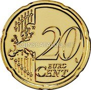 Portugal 20 Euro Cent 2012 KM# 764 Euro coinage coin reverse
