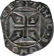 Portugal 200 Reis (1/2 Cruzado) Afonso VI Evora ND KM# 51a IN HOC SIGNO VINCES coin reverse
