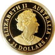 Australia 25 Dollars Hand of Faith 2020P Proof ELIZABETH II AUSTRALIA 25 DOLLARS JC coin obverse