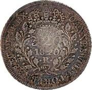 Portugal 300 Reis ND (1887) Azores JOANNES VI D G PORT BRASETALG REX coin reverse