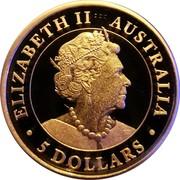 Australia 5 Dollars Hand of Faith 2020P Proof ELIZABETH II AUSTRALIA 5 DOLLARS JC coin obverse
