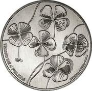 Portugal 5 Euro The Four Leaf Clover 2018INCM TREVO DE 4 FOLHAS CATARINA SOBRAL - INCM coin reverse
