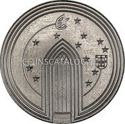 Portugal 5 Euro (The Gothic)  coin obverse