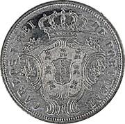 Portugal 5 Reis Carlos I Pattern 1901 CARLOS I REI DE PORTUGAL coin obverse