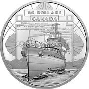 Canada 50 Dollars (Coming of Age) 50 DOLLARS CANADA coin obverse