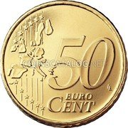 Portugal 50 Euro Cent 2003 KM# 745 Euro coinage coin reverse