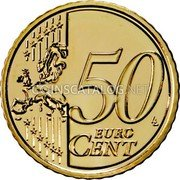 Portugal 50 Euro Cent 2012 KM# 765 Euro coinage coin reverse