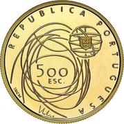 Portugal 500 Escudos European Culture Capital 2001 INCM Proof KM# 733a REPUBLICA PORTUGUESA 500 ESC INCM coin obverse