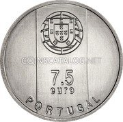 Portugal 7,5 Euro (Goncalo Byrne) 7.50 euro PORTUGAL coin obverse