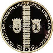 Portugal 8 Euro 2006 INCM Proof KM# 778a Euro coinage coin reverse