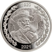 Greece 10 Euro The Evolution of the map of Greece - 1920 Thrace 2021 1920 2021 ΘΡΑΚΗ coin obverse