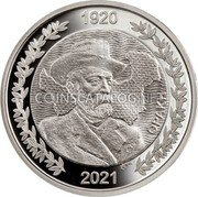 Greece 10 Euro (The Evolution of the map of Greece - 1920 Thrace) 1920 2021 ΘΡΑΚΗ coin obverse