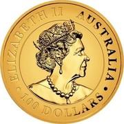 Australia 100 Dollars Australian Wedge-tailed Eagle. Proof High Relief 2021 P Proof High Relief ELIZABETH II AUSTRALIA 2021 100 DOLLARS JC coin obverse