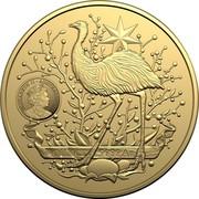 Australia 100 Dollars Australia's Coat of Arms 2021 ELIZABETH II AUSTRALIA 2021 1 OUNCE .9999 AU coin obverse
