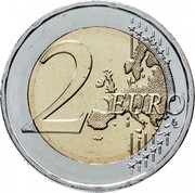 Greece 2 Euro (Greek War of Independence) 2 EURO LL coin reverse