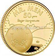 UK 25 Pounds (50th Anniversary of Mr. Men) MR. MEN 50 YEARS ROGER HARGREAVES coin reverse