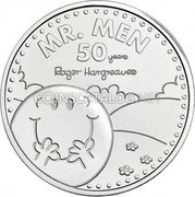 UK 5 Pounds (50 Year of Mr. Men) MR. MEN 50 YEARS ROGER HARGREAVES coin reverse