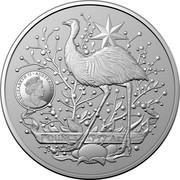 Australia One Dollar Australia's Coat of Arms 2021 ELIZABETH II AUSTRALIA 2021 coin obverse