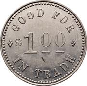 Canada $1 Horwood Lumber Co. Ltd. Store Campbellton Token ND GOOD FOR $1 IN TRADE coin reverse