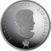 Canada 250 Dollars King George III Peace Medal 2012 Proof ELIZABETH II 2012 250 DOLLARS 1812 SB coin obverse