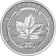 Canada 4 Dollars 2015 Proof KM# 1808 Silver Bullion Coins coin reverse