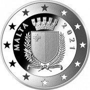 Malta 10 Euro Albrecht Dürer 550 Years 2021 Proof MALTA 2021 coin obverse