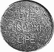 Slovenia 2/1000 Lipe X# Tn4 Standart Coinage OVE LISOČINI LIPE coin reverse