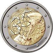 Slovenia 2 Euro (35th Anniversary of the Erasmus Programme) 1987-2022 PROGRAM ERASMUS SLOVENIJA coin obverse
