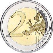 Slovenia 2 Euro (35th Anniversary of the Erasmus Programme) 2 EURO LL coin reverse