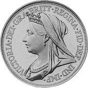 Ireland 48 Pence (Victoria) X# 12.1 VICTORIA DEI GRA BRITT REGINA FID DEF IND IMP coin obverse