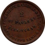 Australia 1/2 Penny ND KM# Tn290 Foreign Token issues CHARLES HARROLD & CO. LATE JOSEPH LANE & SON ST. PAULS ST. BIRMINGHAM coin obverse