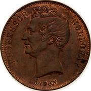 Australia 1/2 Penny (Professor Holloway) KM# Tn277.1 PROFESSOR HOLLOWAY LONDON coin obverse