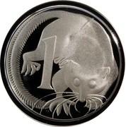 Australia 1 Cent Glider 1991 KM# 78a 1 SD coin reverse