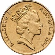 Australia 1 Dollar (Decade of Dollars) KM# 258 ELIZABETH II AUSTRALIA 1984 RDM coin obverse