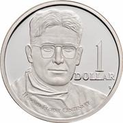 Australia 1 Dollar Howard Florey 1998 KM# 366a 1 DOLLAR HOWARD FLOREY CENTENARY HH coin reverse