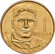 Australia 1 Dollar (Howard Florey) KM# 366 1 DOLLAR HOWARD FLOREY CENTENARY HH C coin reverse