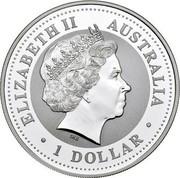 Australia 1 Dollar Kookaburra. U.S. State Quarter - New Hampshire 2000 KM# 614 ELIZABETH II AUSTRALIA 1 DOLLAR IRB coin obverse