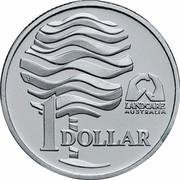 Australia 1 Dollar Landcare Australia 1993 KM# 208a.2 LANDCARE AUSTRALIA 1 DOLLAR coin reverse