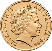 Australia 1 Dollar (The Last Anzac) KM# 400 ELIZABETH II AUSTRALIA 1999 IRB coin obverse