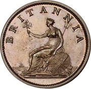 Australia 1 Penny ND KM# Tn16.2 Private Token issues BRITANNIA coin obverse