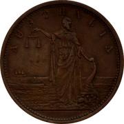 Australia 1 Penny ND KM# Tn239 Private Token issues AUSTRALIA coin reverse